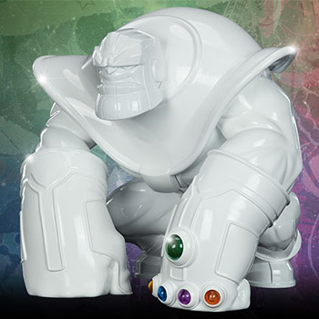 Thanos (Infinity-Sized) Gloss White Edition Collectible