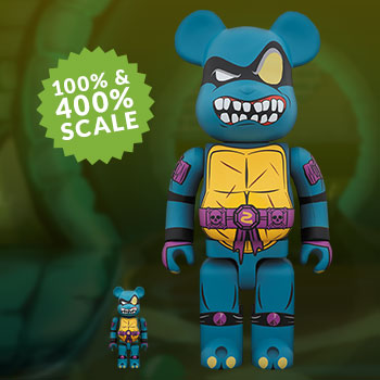 Be@rbrick Slash 100% and 400% Collectible