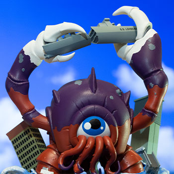 Crabthulu: Terror of the Deep! Designer Collectible Toy