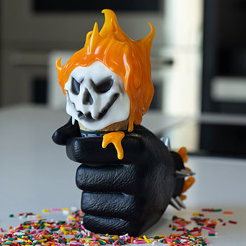 Ghost Rider: One Scoops Designer Collectible Toy