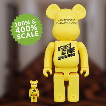 Be@rbrick The Shining Poster 100% & 400% Collectible Set