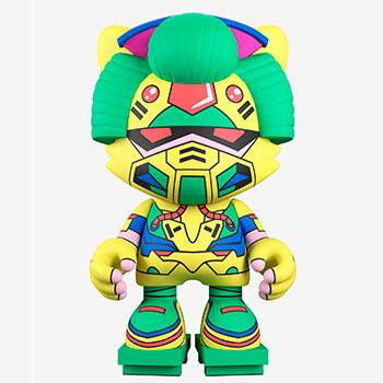 Neon Future Janky Designer Collectible Toy