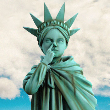 Liberty Girl (Freedom Edition) Polystone Statue