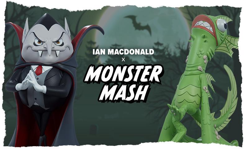 Ian MacDonald x Monster Mash Collection