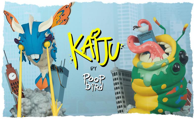 Poopbird x Kaiju Collection