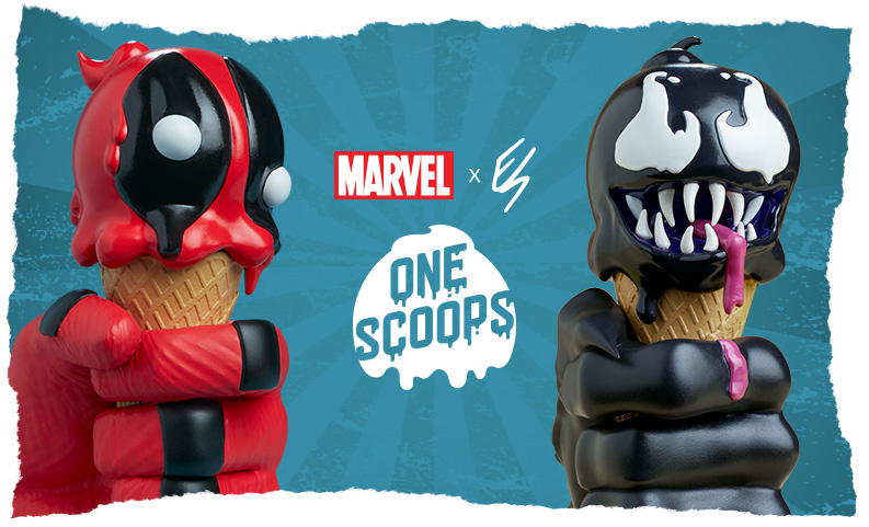 Erik Scoggan x Marvel One-Scoops Collection
