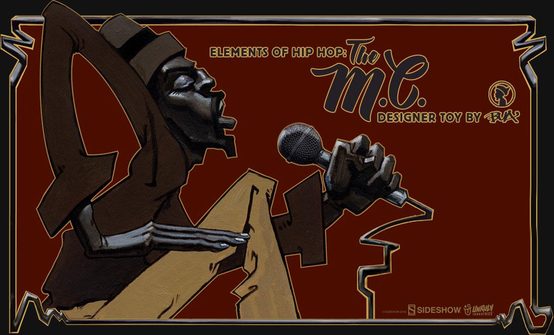 Elements of Hip Hop MC designer toy preview