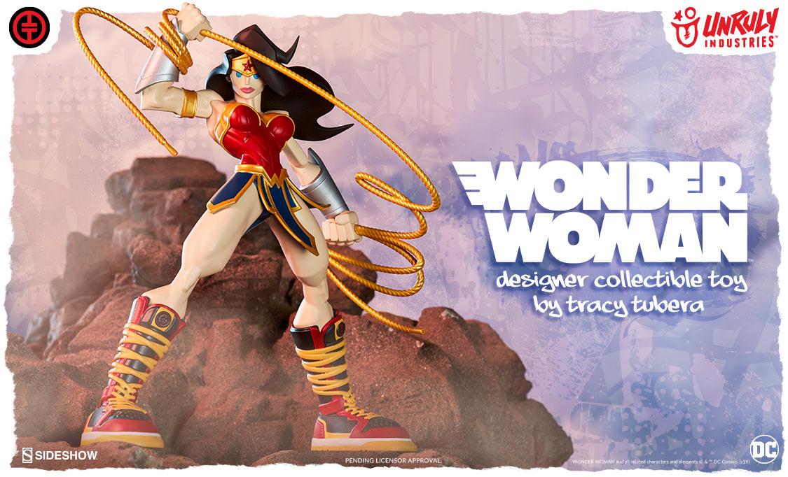 Image of Wonder Woman Designer Collectible Toy