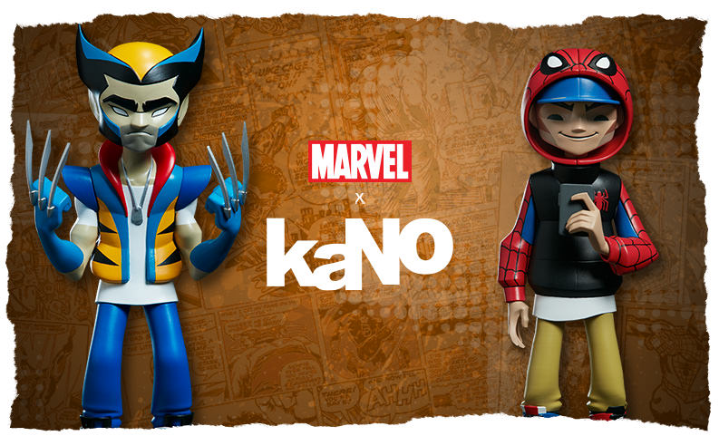 KaNO x Marvel Collection