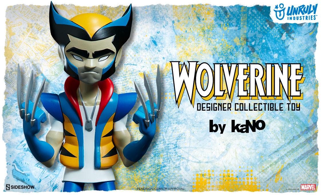 Wolverine Designer Collectible Toy