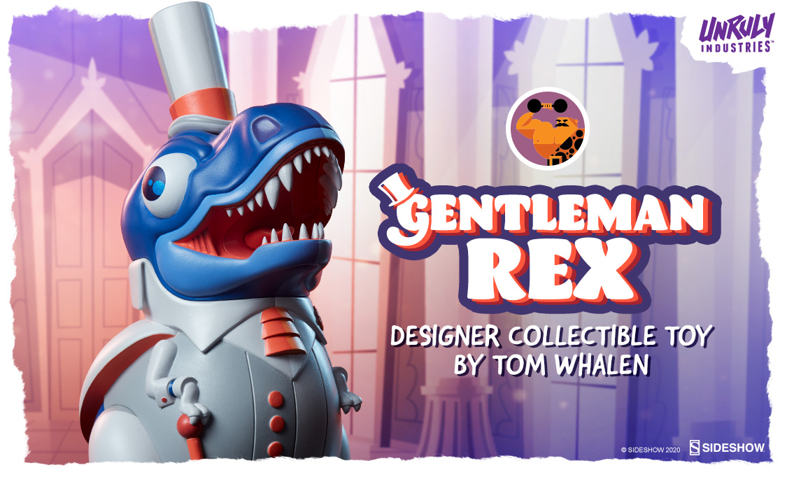 Gentleman Rex Designer Collectible Toy